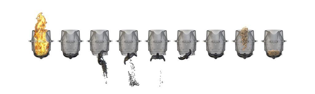 nettoyage automatique poêle à granulés